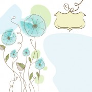 Link toHand drawn cute flowers vector 03
