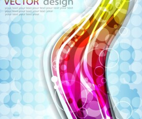 vector background of Abstract Colorful art 01