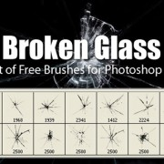 Link toBroken glass brushes fot photoshop