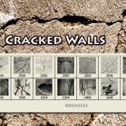 Link toCracked walls brushes fot photoshop