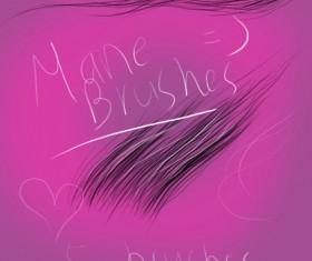 mane brushes