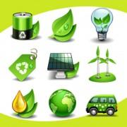 Link toEco elements icon vector 01