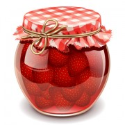 Link toCanned fruits in glass jars vector 03