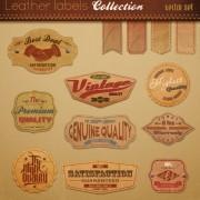 Link toVarious elements vintage labels vector 02