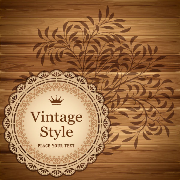 Vintage lace Frames and Borders vector 03