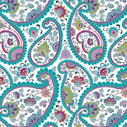 Link toAbstract ornate floral pattern vector art