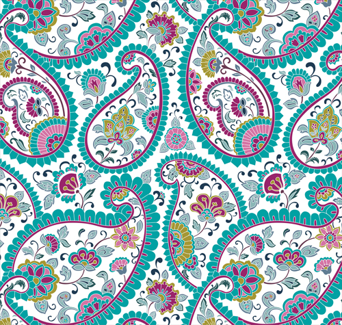 Abstract ornate floral Pattern vector art - Vector Floral ...