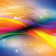 Link toAbstract backgrounds with shiny waves vector 02