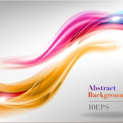 Link toAbstract backgrounds with shiny waves vector 03