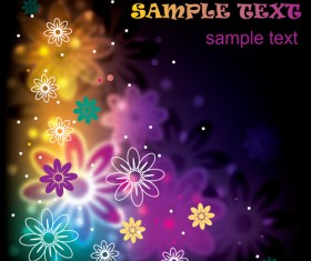 Set of Different Backgrounds vector mix 01