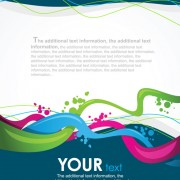Link toSet of different backgrounds vector mix 03