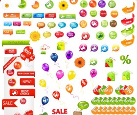 Business elements covers for Button,Stickers and icon vector