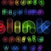 Elements of Different alphabet vector set 01