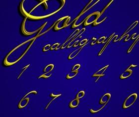 Elements of Different alphabet vector set 05