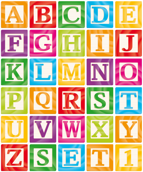14171 Different Alphabet Elements Vector Graphics 03 on Different Font Styles Alphabet
