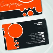Link toSet of flyer cover and business card vector 03