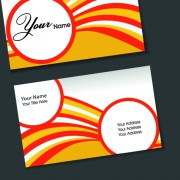 Link toSet of flyer cover and business card vector 04