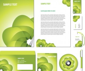 Green cover of Corporate Accessories vector