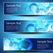 Link toBanner design elements abstract vector 03