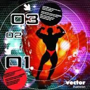Link toVector of music elements illustration art 04