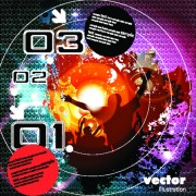 Link toVector of music elements illustration art 05