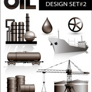 Link toOil industry design elements vector 01