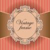Elements of Vintage frames vector set 05