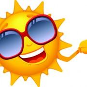 Link toElements of summer sun vector art 01