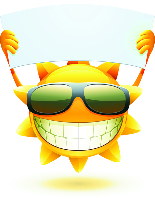 elements of summer sun vector art 04 vector other free download rh freedesignfile com Summer Sun Clip Art Summer Sun Cartoon