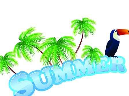 Summer Tourism illustration vector 03