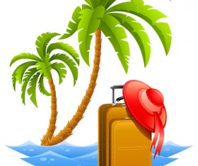 Travel design elements vector art 02