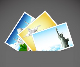 Travel design elements vector art 04