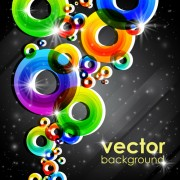 Link toSet of abstract colorful background vector 04