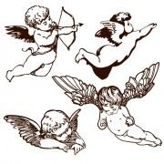 Link toVintage angels statue vector 05