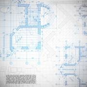 Architectural drawing design elements vector 05