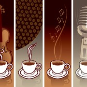 Link toCoffee cards design elements vector 02