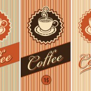 Link toCoffee cards design elements vector 04