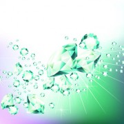 Link toElements of background with diamond vector 01