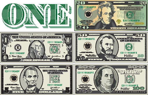 Dollar Design Elements Set of Dollar Design Elements
