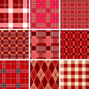 Link toSet of different fabric patterns vector 03