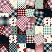 Link toSet of different fabric patterns vector 04