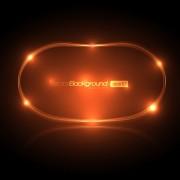 Link toOrnate coloured glass frames background vector 04