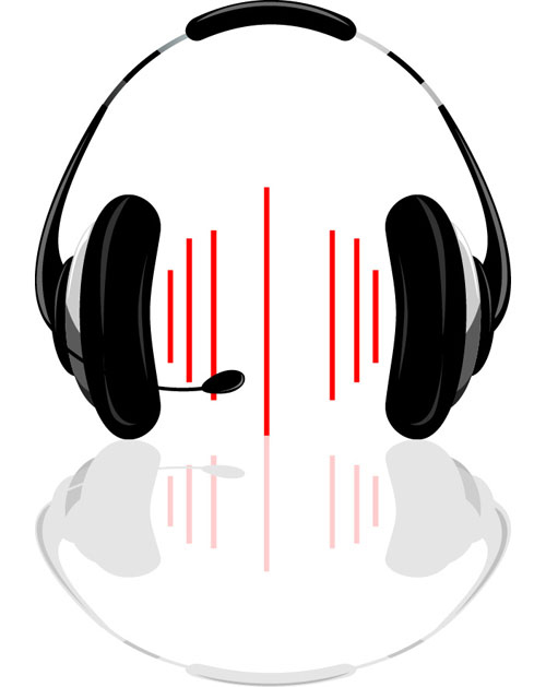 headphone vector for free download