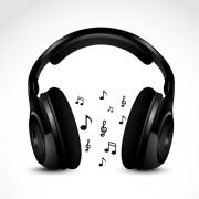Link toSet of headphone elements vector 02