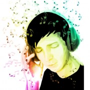 Link toMusic note and people vector 03