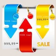 Link toDifferent sale label stickers vector 03