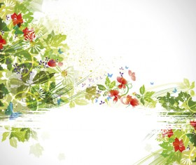 Garbage Summer Compositions vector 05