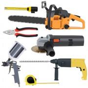 Link toVarious building tools elements vector set 01