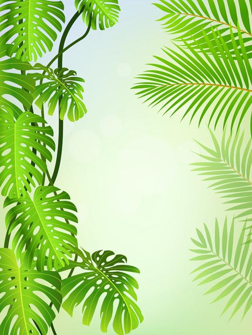vector scenery tropical - photo #15
