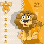 Link toCute cartoon animal cards design vector 02